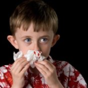 Preventing and Treating Nosebleeds, Concerned Boy With Bloody Nose