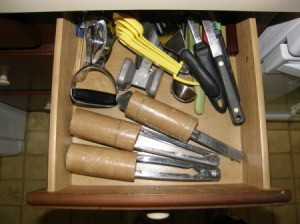 Organizing Tongs After