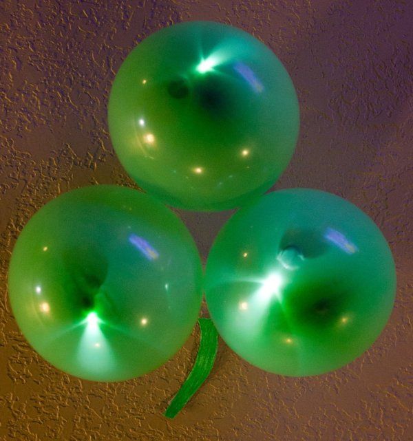 Balloon LED Shamrock