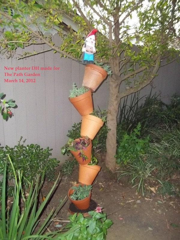 Tipsy Flower Pots (The Path Garden)