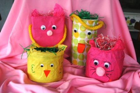 coffee can easter baskets