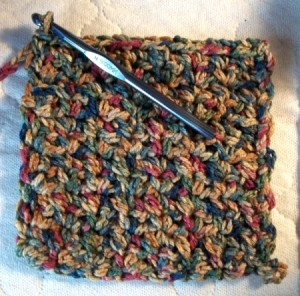 Crocheted Chain - Hot Pad
