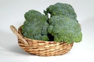 Broccoli in a Basket