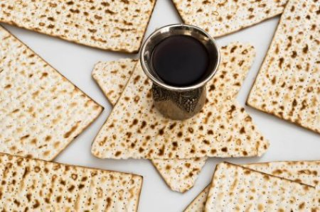 Preparing a Passover Meal