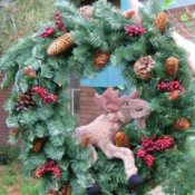 Moose Wreath