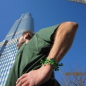 St Patrick's Day at Trump Tower (Chicago, IL)