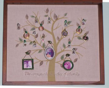 Family tree wall hanging.