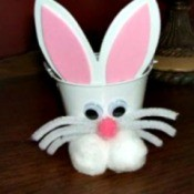 Easter Bunny Bucket
