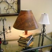 Stack of Books Lamp