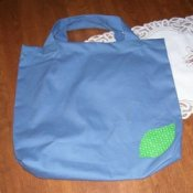 Homemade Green Tote