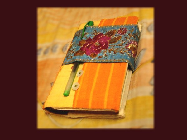 Making a homemade diary thriftyfun for Creative ways to make a book for a project