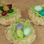Rice Krispy Nests