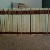 Set of encyclopedias