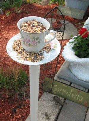 Tea Cup Bird Feeder Thriftyfun