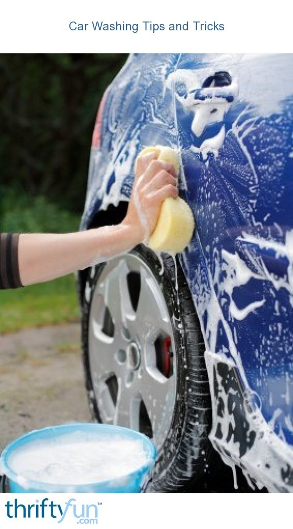How To Get Tar Off Car >> Car Washing Tips and Tricks | ThriftyFun