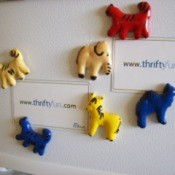 Animal Cracker Magnets