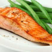 Broiled Salmon