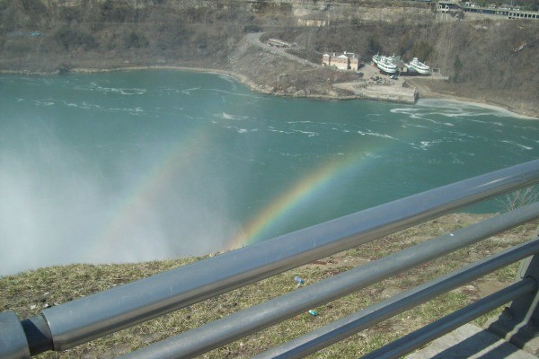 Rainbow Over the Falls! (Niagara Falls, NY)