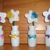 Recycled Daffodil Craft