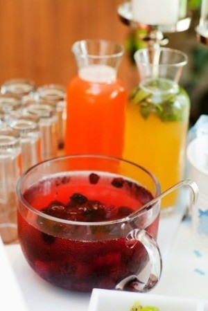 Breakfast and Brunch Punch on Table
