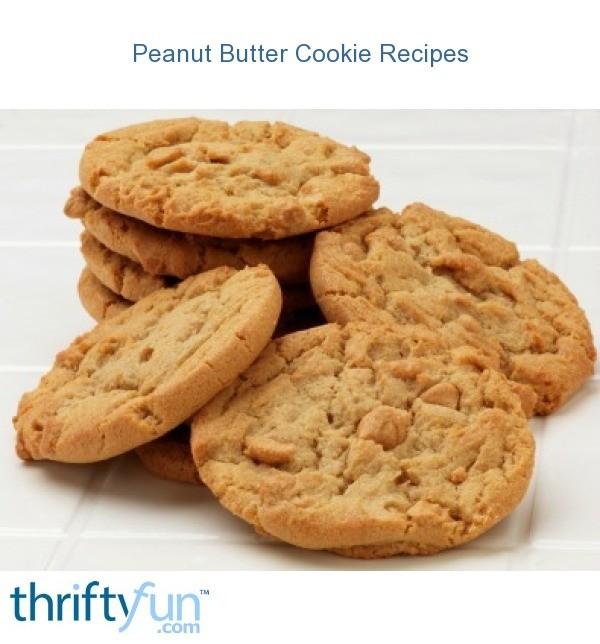 Peanut Butter Cookie Recipes Thriftyfun