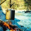 Cooking Over Camp Fire