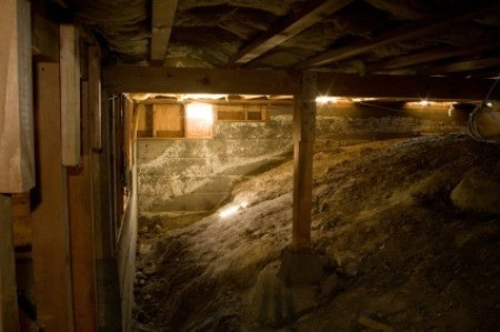Dark Crawl Space