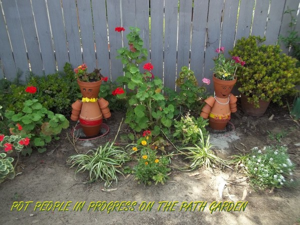 Terra Cotta Pot People