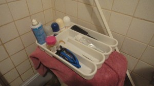 Utensil Holder Bathroom Organizer