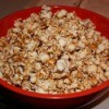 Bowl of caramel corn
