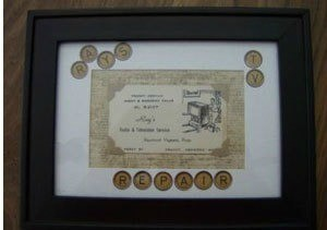 Framed Business Card