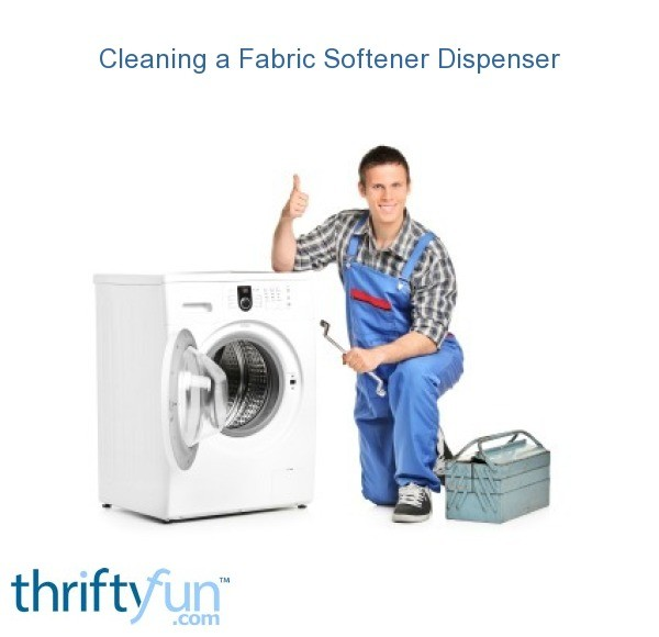 how to clean the fabric softener dispenser in a whirlpool washing machine