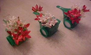 Wheelbarrow Flower Decoration
