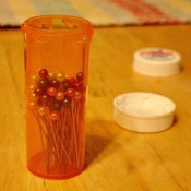 Keep Pins in Prescription Bottle