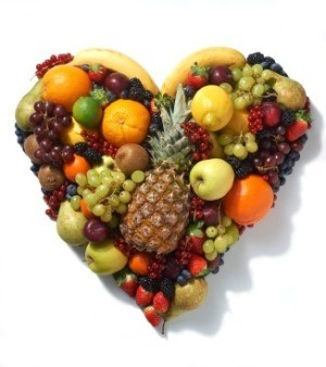heart fruit is eating a lot of fruit healthy
