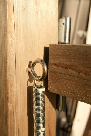 Eyelet Screw and Spring