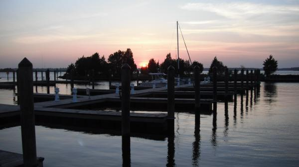 Sunset (Carolina Beach State Park Marina, NC)