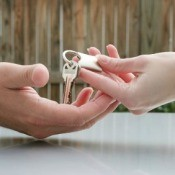 Handing Over Keys To House