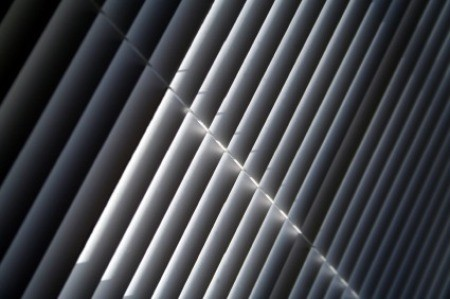 Closed Mini Blinds