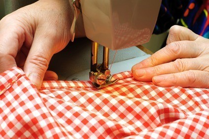 Altering Clothing on Sewing Machine