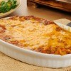Chicken Enchilada Casserole on Table