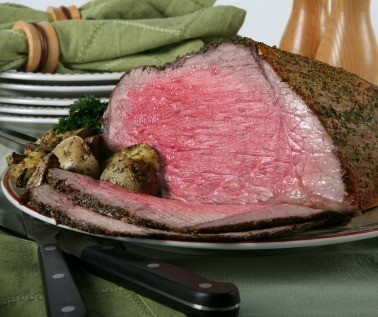 Roast Beef on Table