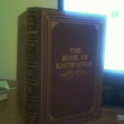 Standing volume of the Book of Knowledge