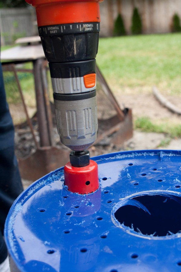 Drilling Hole for PVC Pipe
