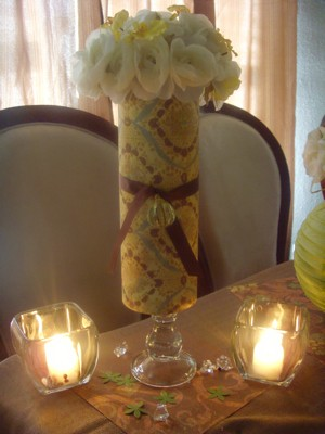 Flower Vase Centerpiece