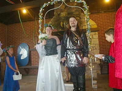 Medieval Themed Wedding
