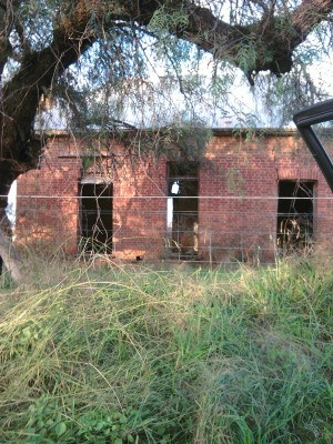 A haunted building in New South Wales