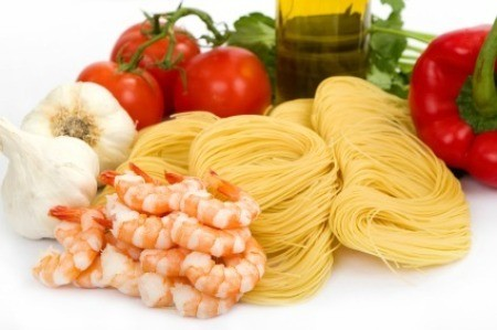 Shrimp Scampi Ingredients