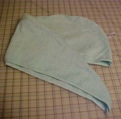 Bath Towel Turban Craft