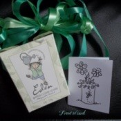 Gift bag and card.
